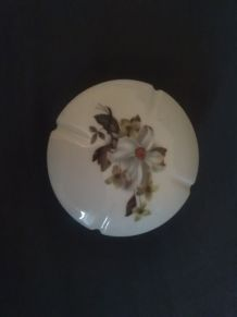 Boîte à bijoux en porcelaine de Limoges Marcel Franck