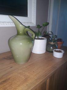Pichet ou vase, vert celadon