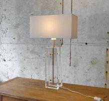LAMPE PLEXIGLASS VINTAGE XXL