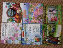 lot de 5 livres disques et 1 disque pour enfants vintage