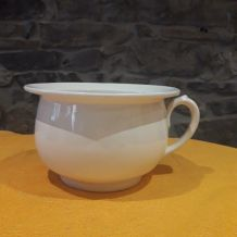 Pot de chambre en porcelaine Digoin Sarreguemines