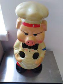 Range-couverts cochon Vintage