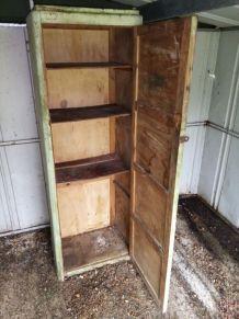 Casier d'atelier en bois