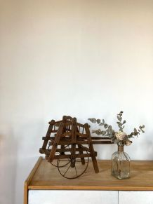 Petite charrette en bois