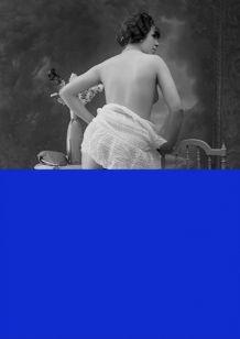 Photographie vintage femme cabaret nu - 1920 - 02