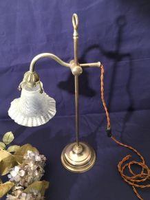 Lampe de bureau, style Art Nouveau signée MONIX.