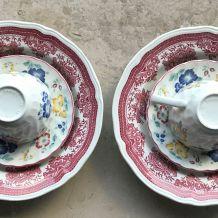 Duo de porcelaine pour le brunch