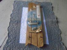 Baromètre en bois