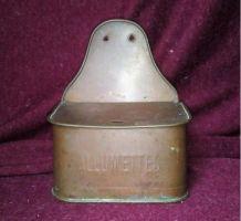 Boîte à allumettes en cuivre