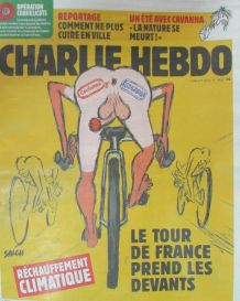 CHARLIE HEBDO N° 1406 de JUILLET 2019 TOUR DE FRANCE et RÉCH