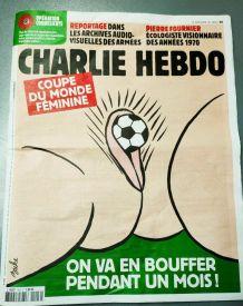 charlie hebdo 2019 Coupe du monde football France féminine C
