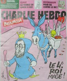 CHARLIE HEBDO N° 1380 de Janvier 2019 BENALLA LE 4 éme ROI M
