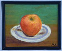 Tableau étude de pomme