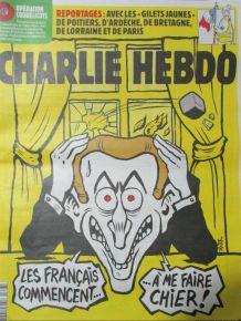 CHARLIE HEBDO N° 1377 de DÉC. 2018 MACRON LES FRANÇAIS COMME