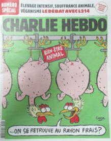 CHARLIE HEBDO N° 1415 de SEPTEMBRE 2019 SPÉCIAL ELEVAGE INTE