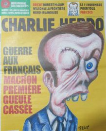 CHARLIE HEBDO N° 1372 de NOVEMBRE 2018 GUERRE MACRON PREMIÈR