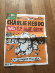 JOURNAL BD CHARLIE HEBDO 1385 retour djihadistes francais ma