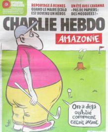 CHARLIE HEBDO N° 1414 de AOÛT 2019 JOUEUR de GOLF INCENDIE A