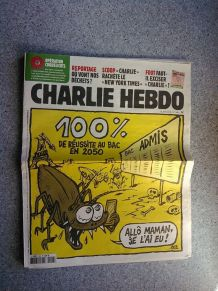 CHARLIE HEBDO No 1404 JUIN 2019 100% DE RÉUSSITE AU BAC EN 2