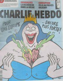 CHARLIE HEBDO N° 1400 de MAI 2019 POUR UNE EUROPE ENCORE PLU