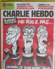 CHARLIE HEBDO N°1417   PURGES POLITIQUES NE RIEZ PAS...