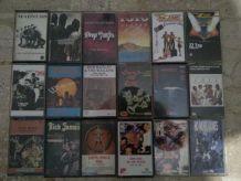 Cassettes audio ROCK POP