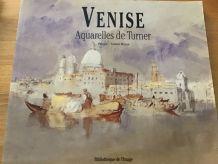 Venise aquarelle de Turner