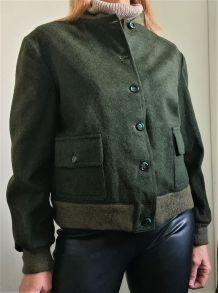 Veste Vintage Style Chasse l'Esquimau
