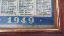 Almanach des P.T.T. sous cadre (1949)