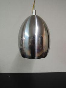 Suspension en métal brossé