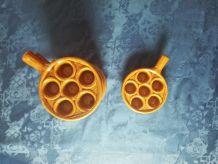 Ensemble de 6 plats de cuisson d'escargots
