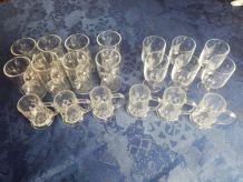 Ensemble de 20 verres apéro