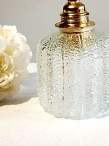 Baladeuse globes verre vintage