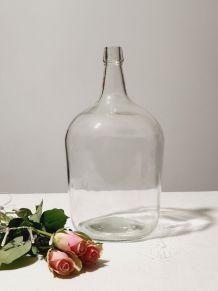 Dame jeanne transparente 5 litres vintage