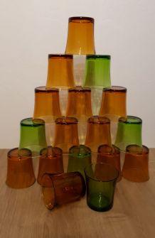 Série de verres duralex