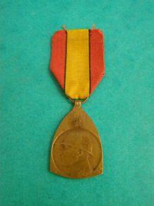 Ancienne médaille : Commémoration de la campagne 1914/1918