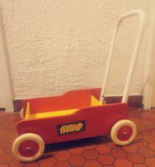 Chariot de marche enfants en bois Brio