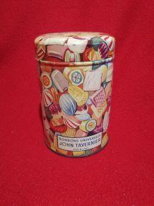 Boîte à bonbons Vintage