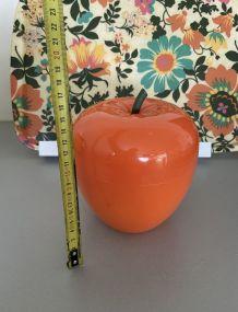 Pomme à glaçons année 70 orange