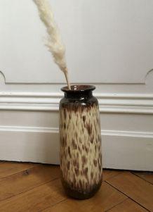 Vase grès années 70