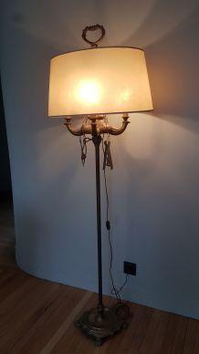 Lampadaire bronze style florentin