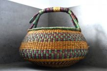 Panier/cabas ancien africain Bolga