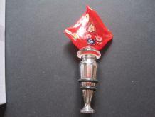 Vintage Italien Verre De Murano flacon décanteur bouchon de