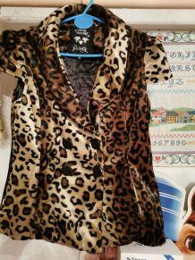 Gilet léopard