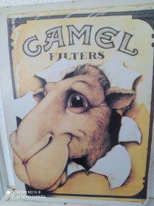 Grande plaque émaillé camel filter