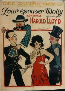Affiche cinéma ancienne - Pour épouser Dolly