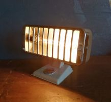 """Lampe vintage, lampe industrielle """"Thermor Taupe"""""""