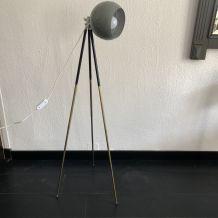 Lampadaire vintage 1950 liseuse projecteur studio photo