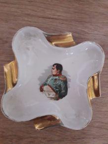 Cendrier Napoléon en porcelaine