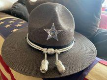 "Veritable ""Stratton"" de Sheriff USA et son badge original"